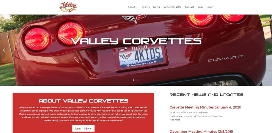 Valley Corvettes